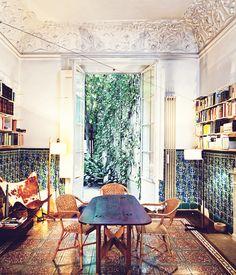 Interior Design | A Barcelona Apartment Ceiling! Wow!
