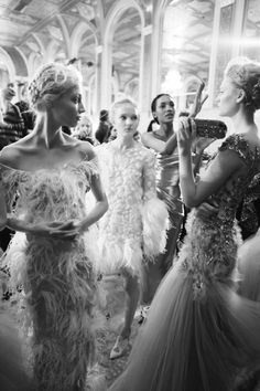 a lot of Marchesa beauty in one room...