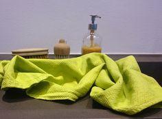 Alte Küchentücher neu einfärben Upcylcing, zero waste