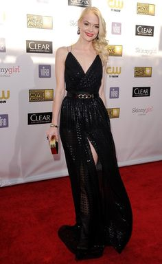 Jaimie King Critics Choice Movie Awards 2013