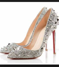 Christian Louboutin Spiked Pumps! #shoecrush