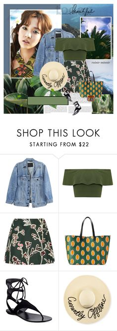 """""""Hawaiian Summer"""" by rainie-minnie ❤ liked on Polyvore featuring Oris, Y/Project, WearAll, Marni, Victoria Beckham, Kendall + Kylie, Eugenia Kim and Etro"""