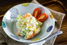 Instant Pot Potato Salad ポテトサラダ (圧力鍋) Japanese Potato Salad, Potato Salad With Egg, Best Pasta Salad, Pasta Salad Recipes, Rice Recipes, Easy Recipes, Vegetarian Recipes, Pressure Cooker Potatoes, Asian Recipes