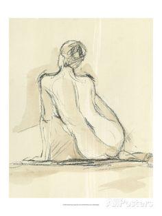 Neutral Figure Study III Art Print