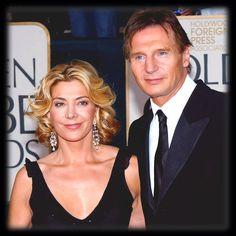 Natasha Richardson, Liam Neeson, Ski, Celebrity Couples, Hollywood, Celebrities, People, Celebs, Faces