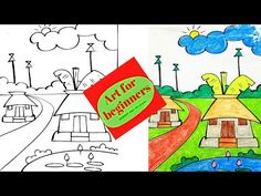 Drawing Videos For Kids, Beginner Art, Easy Drawings, The Creator, Youtube, Youtubers, Youtube Movies