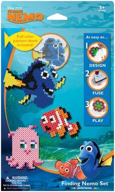 Perler Disney Fuse Bead Activity Kit-Nemo