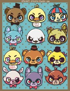 Fans de five nights at freddy's y Anime diversión :D
