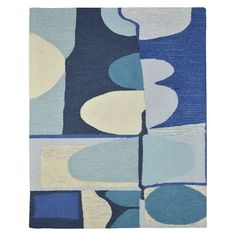 8x10 - $1,399 - Christopher Wynter Abstract Special Order Wool Rug (4-Week Delivery)