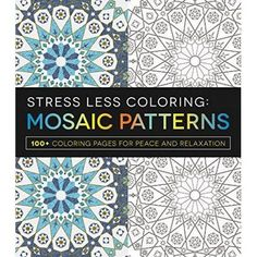Readerlink Books Stress Less Colorin Adult Coloring Book