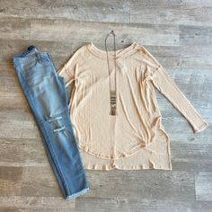 Blushed and Distressed Top