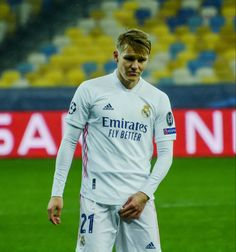 Norwegian footballer Martin Odegaard became the youngest player to start a European Championship qualifier at the age of just 16 years and 101 days, although it wasn't a happy experience as Norway were well beaten 5-1 by Croatia. Norwegian People, European Championships, Croatia, Norway, Football, Age, Happy, Sports, Soccer