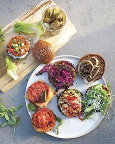 Quinoa-Feta Burgers Recipe