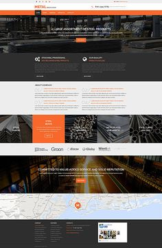 Import / Export Company #website #template. #themes #business #responsive