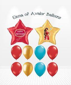 Princess Elena of Avalor Birthday Balloons