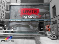 Levis Window Graphic