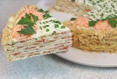 Святковий закусочний торт на День народження - лідер святкового столу #закуски #кулинария #рецепты #деньрождение