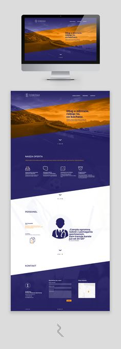 Bright and energetic landing page web design for a sports medicine clinic, containing basic information about the company's offer. My work included designing the page, selecting and editing photographs as well as writing copy and presenting the informatio…