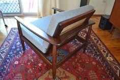 Parker Nordic Armchair with Wrap Around Back - Rare 1960s classic    eBay