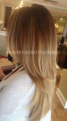 ombre, blonde ombre #hairbyashleygeremia