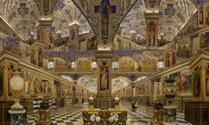 Bibliothèque du Vatican  I know this isnt real - but I wish, oh I wish!