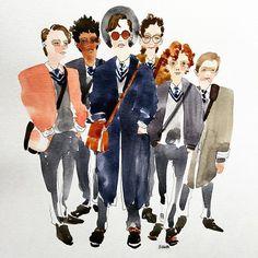 rock n roll! #ferdiawalshpeelo #markmckenna #bencarolan #singstreet #boys…