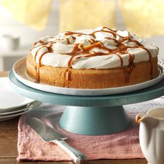 "Classic Tres Leches Cake Recipe -Tres Leche means ""three milk."" This cake gets its name because it uses three kinds of milk—evaporated, condensed and cream. This cake's light and airy texture has made it a classic in Mexican kitchens for generations. —Taste of Home Test Kitchen, Milwaukee, Wisconsin"