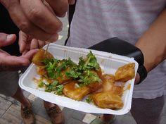 Beijing, China Street Food: Fermented Fried Tofu