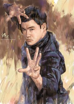 Bruce Lee by Milton Wong
