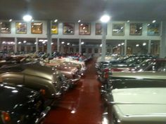 Jim Rogers' Private Car Museum, Las Vegas, NV, 5/17/14  Got to tour Jim Rogers' private car collection in Las Vegas. It was a Kiwanis fundraiser. I only had my iPhone 3 (I know, ancient), so took the best pics I could with the fact that I shake a bit as well. These are the better of the batch. I was blown away how big cars used to be. I had forgotten. Enjoy! :-)