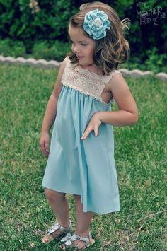 НАША СТРАНА МАСТЕРОВ: Летнее платье для девочки своими руками