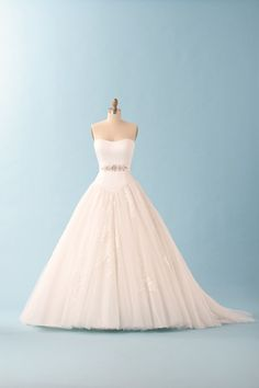 I know, I know. Starting this board off with a dress? I have too. I am in LOVE with the Alfred Angelo Disney Princess Wedding Collection. This dress, Cinderella 226, is one of my very favorite wedding dresses ever.