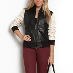 Roots - Women's Baseball Jacket Casablanca, $398