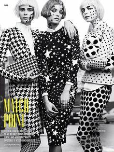 V magazine  Makeup by Will Lemon