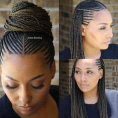 43 Cool Blonde Box Braids Hairstyles to Try - Hairstyles Trends Braided Cornrow Hairstyles, Try On Hairstyles, African Braids Hairstyles, My Hairstyle, Half Cornrows, Hairstyles Pictures, Hairdos, Blonde Box Braids, Braids For Black Hair