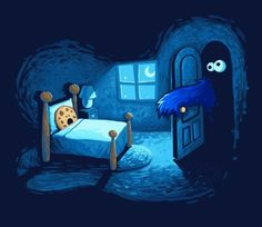 Cookie Monster by jeanette