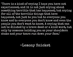 quotes from lemony snicket a series of unfortunate events - Saferbrowser Yahoo Image Search Results Poem Quotes, Sad Quotes, Words Quotes, Great Quotes, Quotes To Live By, Life Quotes, Inspirational Quotes, Daily Quotes, The Words