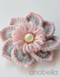 HOW TO CROCHET THIS STUNNING FLOWER – TUTORIAL |