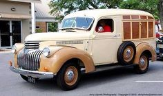 41-46 chevrolet panel truck conversion to a woody canopy express