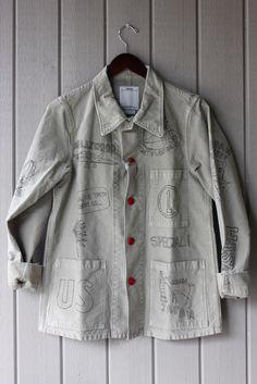 Visvim Travail Sketch Jacket, visvim, hiroki nakamura, sketch jacket
