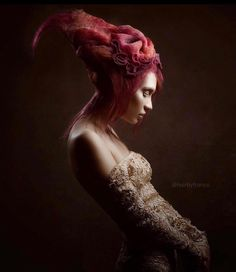 """@hairbyfranco masterpiece. From the """"Deep Sea Enchanted"""" collection.  #photography by @keithbryce_  #makeup by @mary_song  #hair #hairproducts #hairstylist #hairstyle #vogue #fashion #fashiondaily #hairstyling #style #highfashion #model #modeling #beauty #beautiful #girl #luxury #instadaily #inspiration #art #creative #different http://tipsrazzi.com/ipost/1521330061083417308/?code=BUc2aFVABrc"""