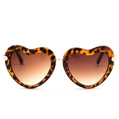 Amara Heart Shaped Sunglasses | www.mooreaseal.com