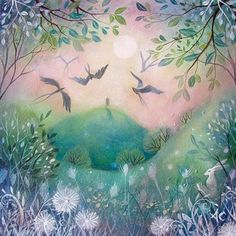 First Light   -   Amanda Clark- art gallery, original paintings