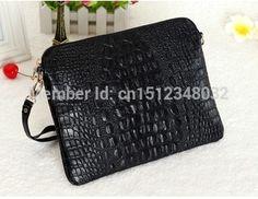 2015 New fashion women messenger bag genuine leather shoulder crossbody bag Alligator handbag women clutch bag women wallets