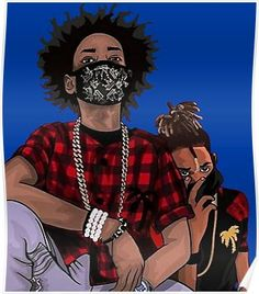 ayo and teo wallpapers cartoon / ayo and teo wallpapers _ ayo and teo wallpapers cartoon _ ayo & teo wallpapers Dope Cartoons, Dope Cartoon Art, Cartoon Drawings, Best Wallpapers Android, Dope Wallpapers, Ayo And Teo, Simpsons Tattoo, Trap Art, Supreme Iphone Wallpaper