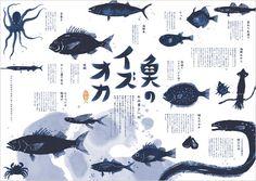 easy compose make space , feel Dm Poster, Kunst Poster, Poster Layout, Print Layout, Layout Design, Menu Design, Illustration Sketches, Illustrations Posters, Fish Illustration