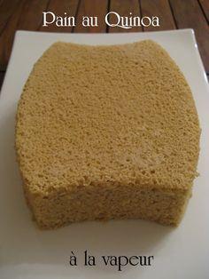 J'en reprendrai bien un bout...: Pain au Quinoa à la vapeur