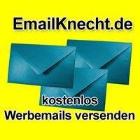 Hier legen Sie sich einen eigenen spamfreien Emailverteiler mit tausenden Emailadressen an.