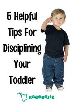 Toddlers are exploring the world around themselves, very often getting themselves into trouble. The right type of discipline at this stage can mean all the difference in your child's behaviour.  #toddler #discipline #parenting