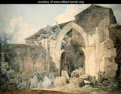 Hereford Cathedral - Joseph Mallord William Turner - www.william-turner.org